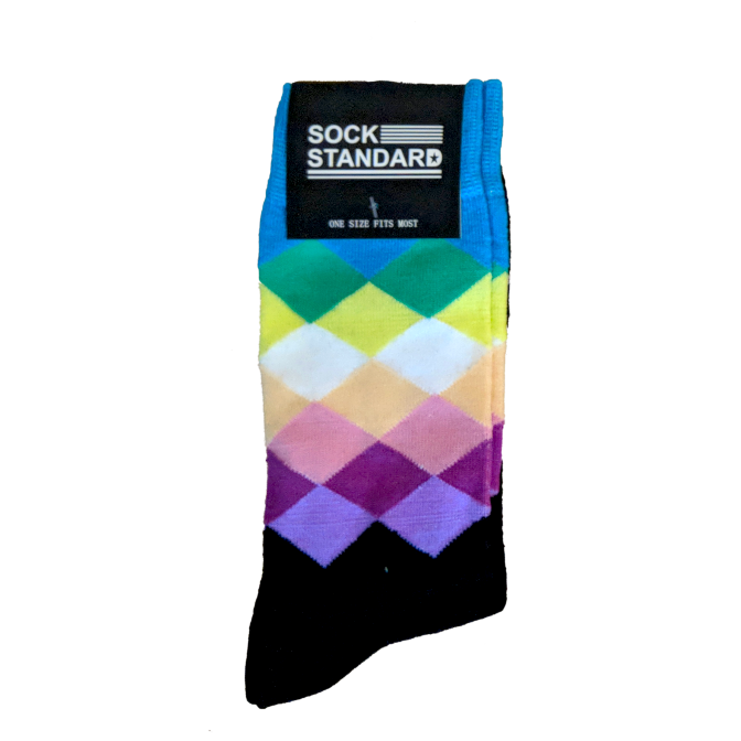 Sock Standard - Coloured Checkered