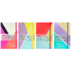 Inspira 'Hello Agenda' Notebook A5