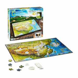 Imperial China 4D 600+ Piece Puzzle (National Geographic)