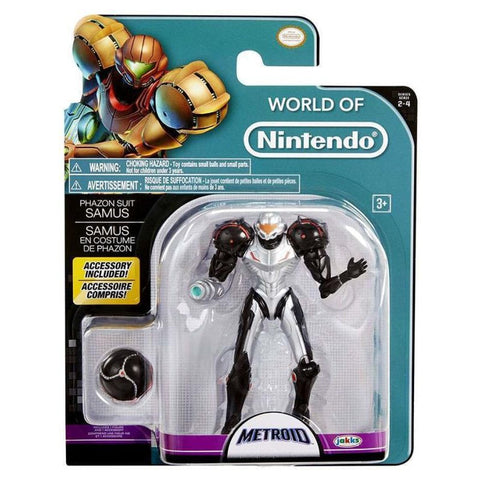 World Of Nintendo - Samus Metroid Prime 3 Action Figure 4""