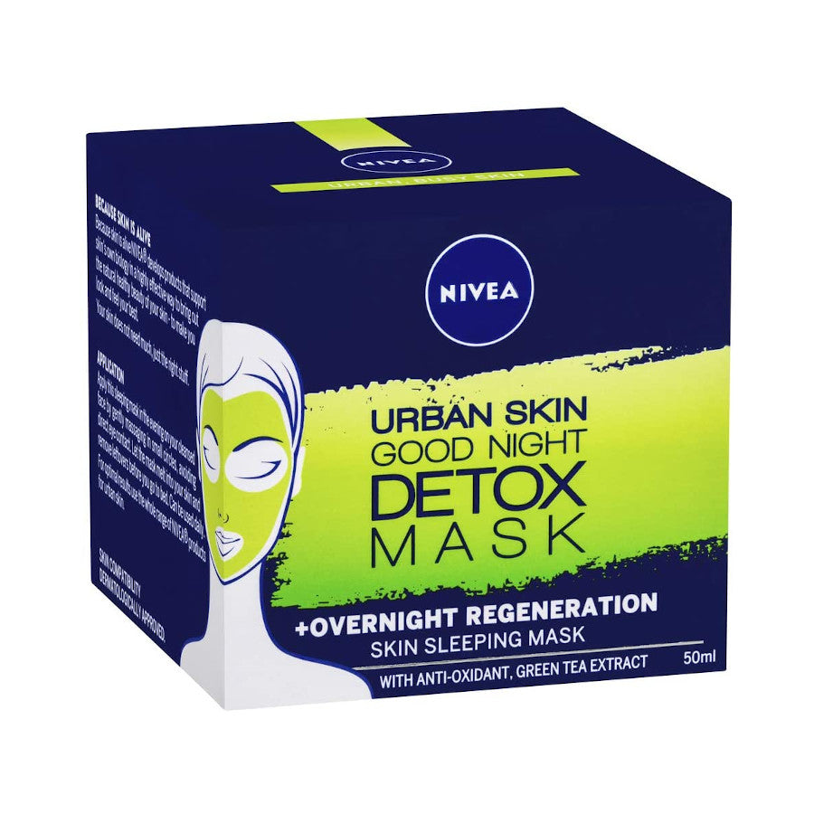Nivea Detox Mask Urban Skin Good Night 50ml