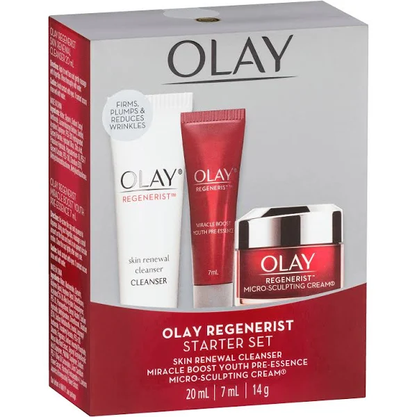 Olay Regenerist: Starter Kit (Cleanser, Youth Pre-Essence, and Micro-Sculpting)