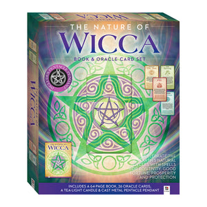 The Nature Of Wicca Book & Oracle Cards Box Set