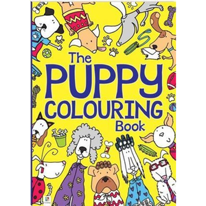 The Puppy Colouring Book