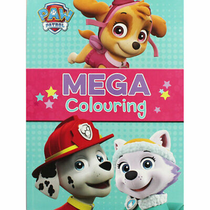 Nickelodeon Paw Patrol: Mega Colouring (Marshall, Skye, Everest)