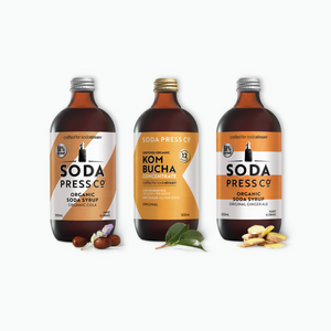 3 Pack SodaStream Organic Flavours