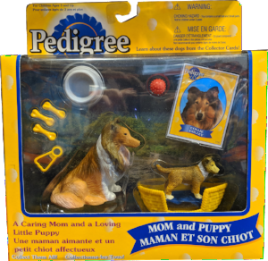 Pedigree Mom and Puppy Figurines