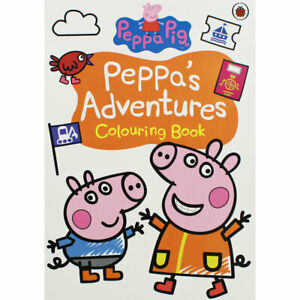 Peppa Pig-Peppa's Adventures: Colouring Book