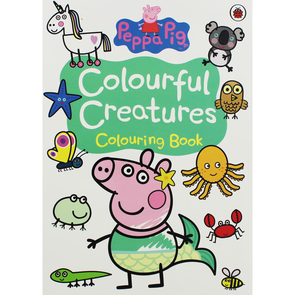 Peppa Pig-Colourful Creatures: Colouring Book