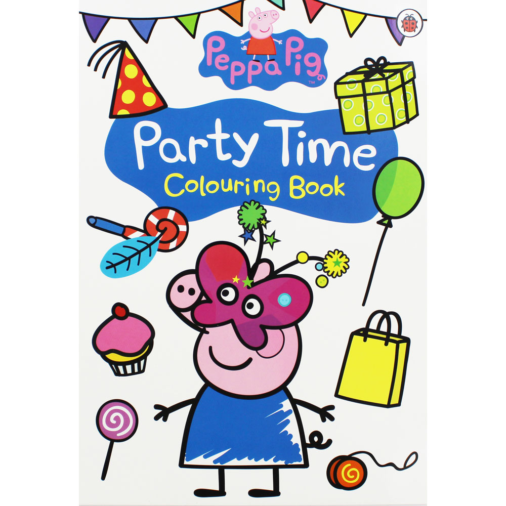 Peppa Pig-Party Time: Colouring Book
