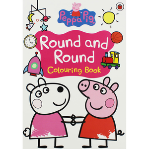 Peppa Pig-Round and Round: Colouring Book