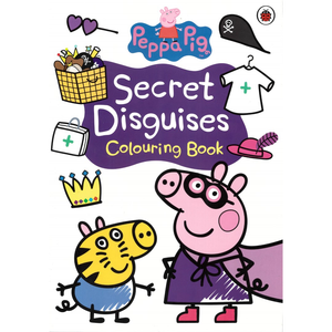 Peppa Pig-Secret Disguises: Colouring Book