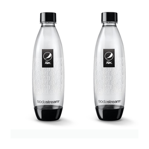 Sodastream Pepsi Max 1L Carbonating Bottles (2 Pack)