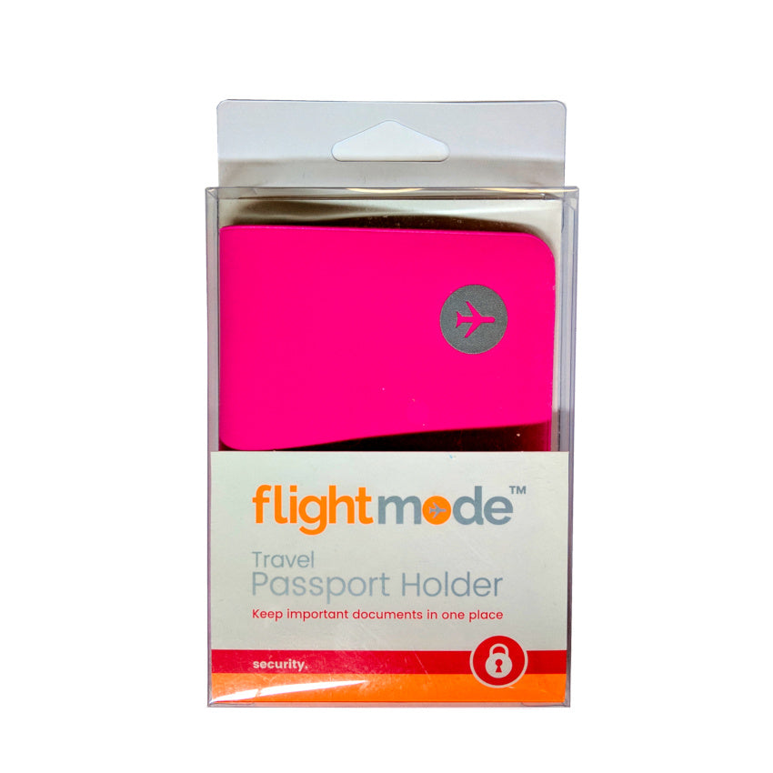 Flightmode Travel Passport Holder