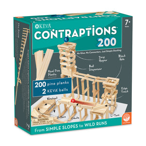 KEVA: Contraptions 200 Piece Plank Set