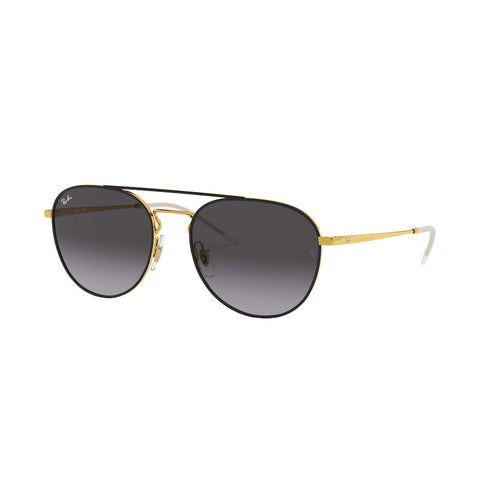 Ray-Ban Unisex RB3589 Black/Gold (55mm)