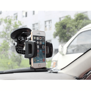 Universal Mobile Phone Holder with Suction Mount
