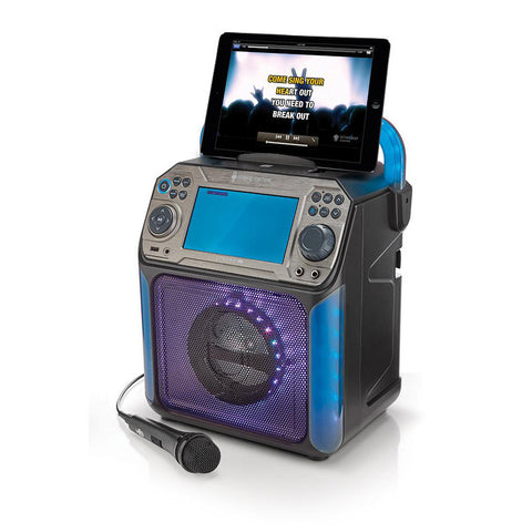 Singing Machine Groove XL – Bluetooth + Light Show