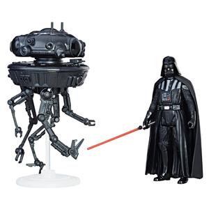 Star Wars Force Link:  Imperial Probe Droid & Darth Vader