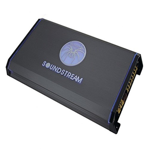SoundStream T1.6000DL 6000W Watt Max Monoblock Class-D Amplifier
