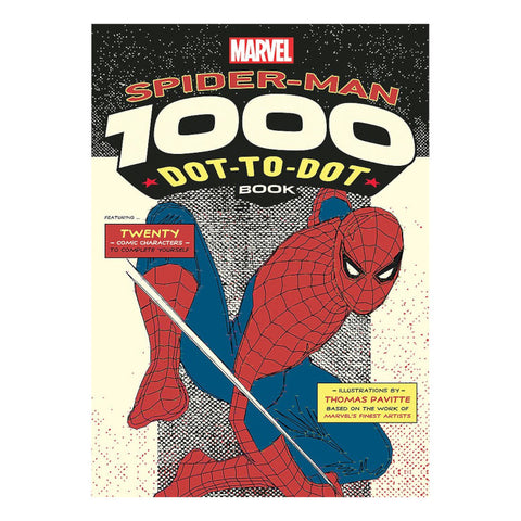 Marvel's Spider-Man 1000 Dot-To-Dot Book