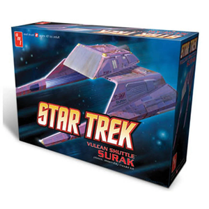 Star Trek Vulcan Shuttle Surak Plastic Model Kit