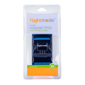 Flightmode 3 Dial Luggage Strap