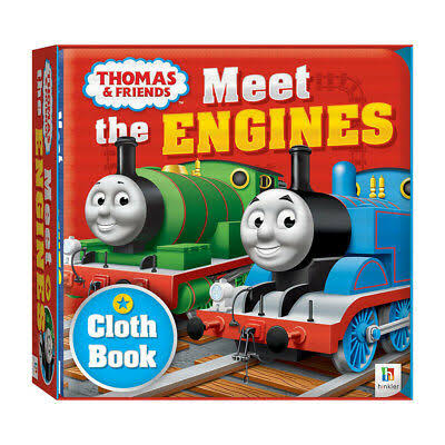 Thomas & Friends: Meet the Engines (Cloth Book)