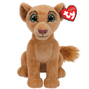"Ty Beanie Babies Collection 7"" The Lion King - Nala The Lion Sparkle Plush Toy"