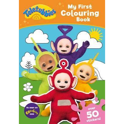 Teletubbies: My First Colouring Book