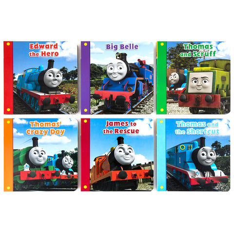 Thomas The Tank Engine Super Library 6-Hardcover Book Collection