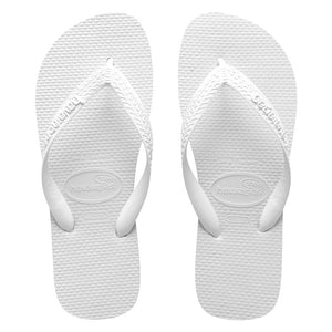 Havaianas Top White Branco Unisex Thongs