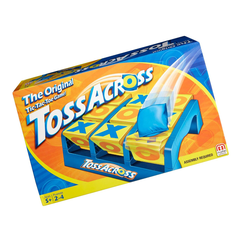 Toss Across - The Active Tic-Tac-Toe Game