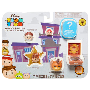 Disney® Tsum Tsum Woody's Round Up Figure Pack Series 7