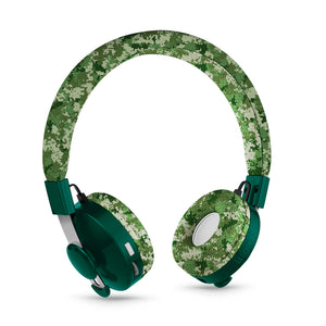 LilGadgets Untangled Pro Childrens Wireless Bluetooth Headphones - Digital Camo