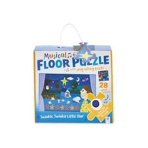 Floor Puzzle & Sing-along Book: Twinkle Twinkle Little Star
