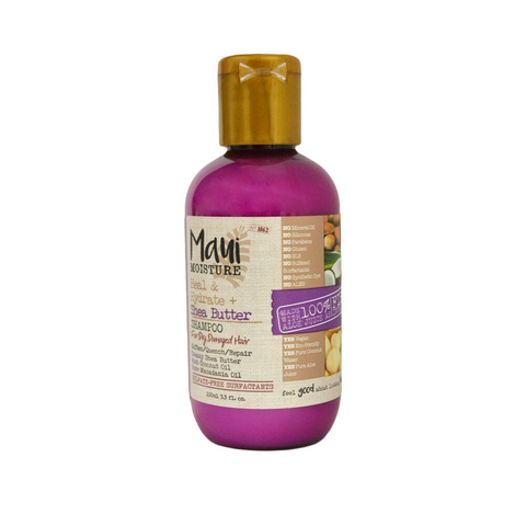 Maui Moisture Shea Butter Shampoo (100ml) & Conditioner (100ml)