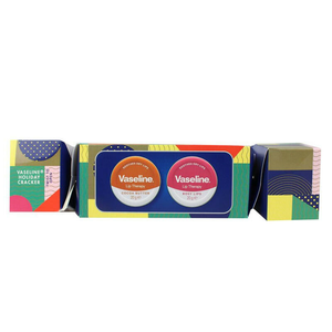 Vaseline Holiday Cracker: Lip therapy butter tins (x2)