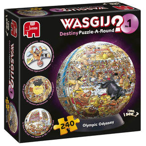 Wasgij Destiny No 01 Puzzle-A-Round Olympic Odyssey 240 piece Puzzle