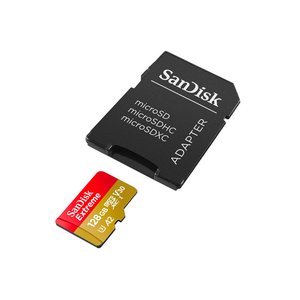 SanDisk 128GB Extreme Pro microSDXC Memory Card (160MB/s)