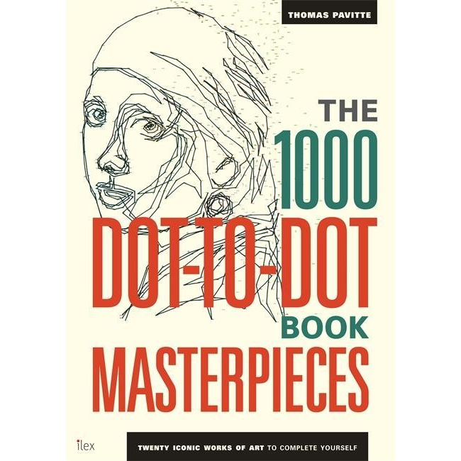 The 1000 Dot-to-Dot Book: Masterpieces