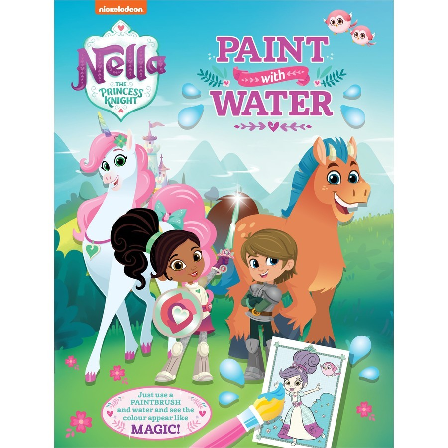 Nella the Princess Knight- Paint with Water