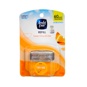 Ambi Pur Set & Refresh Refill Sweet Citrus & Zest 5.5ml