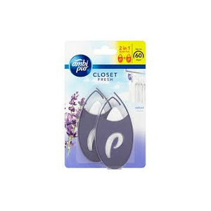 Ambi Pur Hang It Easy Fresh Laundry velvet 2 Pack