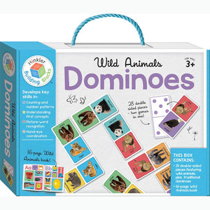 Hinkler Wild Animals Building Blocks Dominoes