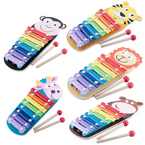 8 Keys Animal Xylophone