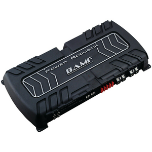 Power Acoustik BAMF Series 1 Channel D Class 8000 Watts BAMF18000D