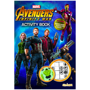 Avengers Infinity War Activity Book Paperback