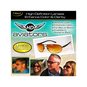 HD Vision Sunglasses - Aviators (As Seen On TV)