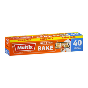 Multix Non Stick Bake Value Pack 40 Metres x 30cm Wide